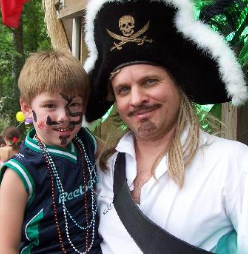 professional pirate costume kids party entertainers