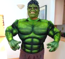 incredible hulk from marvel avengers for superhero costume rental kids party boys entertainment middle tennessee