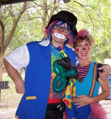male female clowns nashville kids party entertainment entertainers clowning face painter painting balloon animal making maker artist twister